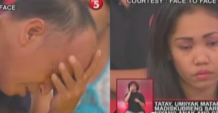 SHOCKING : A FATHER CRIED BECAUSE HE DIDN'T KNOW THAT HIS GIRLFRIEND IS HIS OWN DAUGHTER (Tatay, umiyak matapos madiskubreng sarili pala niyang anak ang GF niya)