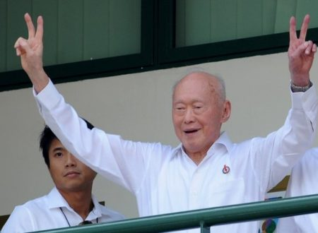 Modern Singapore Founder Lee Kuan Yew passed away at 91