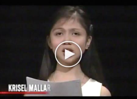 The viral salutatorian finally delivered her full speech on TV