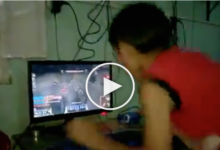 Filipino Kid almost destroyed his PC after being lose in LOL