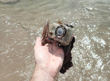 GoPro who lost 6 years ago found and still working!