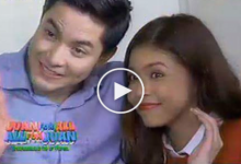 WATCH: ALDUB first selfie and touch!