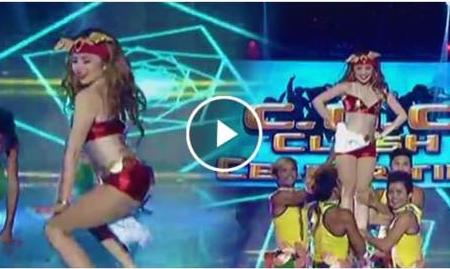 """Ella Cruz as Darna dances """"Twerk it Like Miley"""""""
