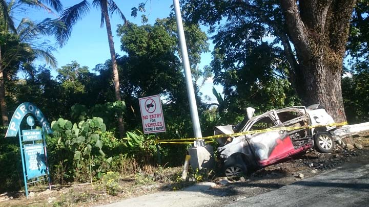 Picture Of Car Accident In Tagaytay