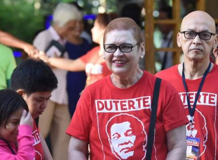 Mayor Duterte's former wife Elizabeth Zimmerman, to campaign for him