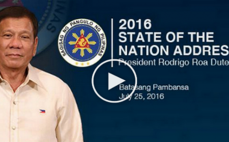 WATCH: Live President Rodrigo Duterte's First State of the Nation Address