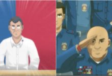 "Anime version of President Duterte, PNP Chief Ronald ""Bato"" Dela Rosa etc. has gone viral on the internet"
