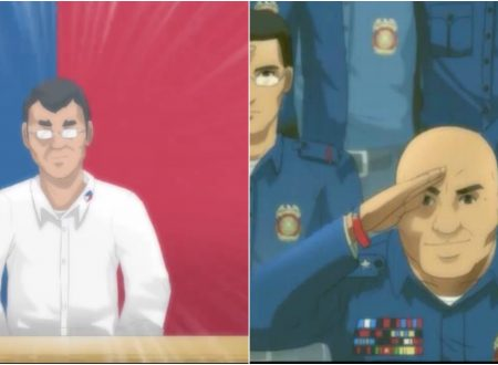 "Anime version of President Duterte, PNP Chief Ronald ""Bato"" Dela Rosa etc. has gone viral on the internet"
