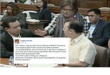 "Former Senator Jinggoy Estrada slams Sen. Trillianes for being ""mayabang"""