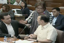 """Sen. Cayetano offended by Sen. Trillianes for citing him """"Out Of Order"""""""