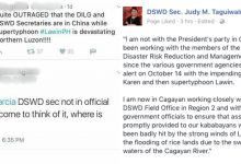 Sec. Taguiwalo responded to Duterte critics who accused DSWD for doing nothing to help the victims of LawinPH