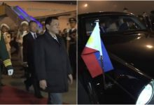 President Duterte got a red carpet welcome in China