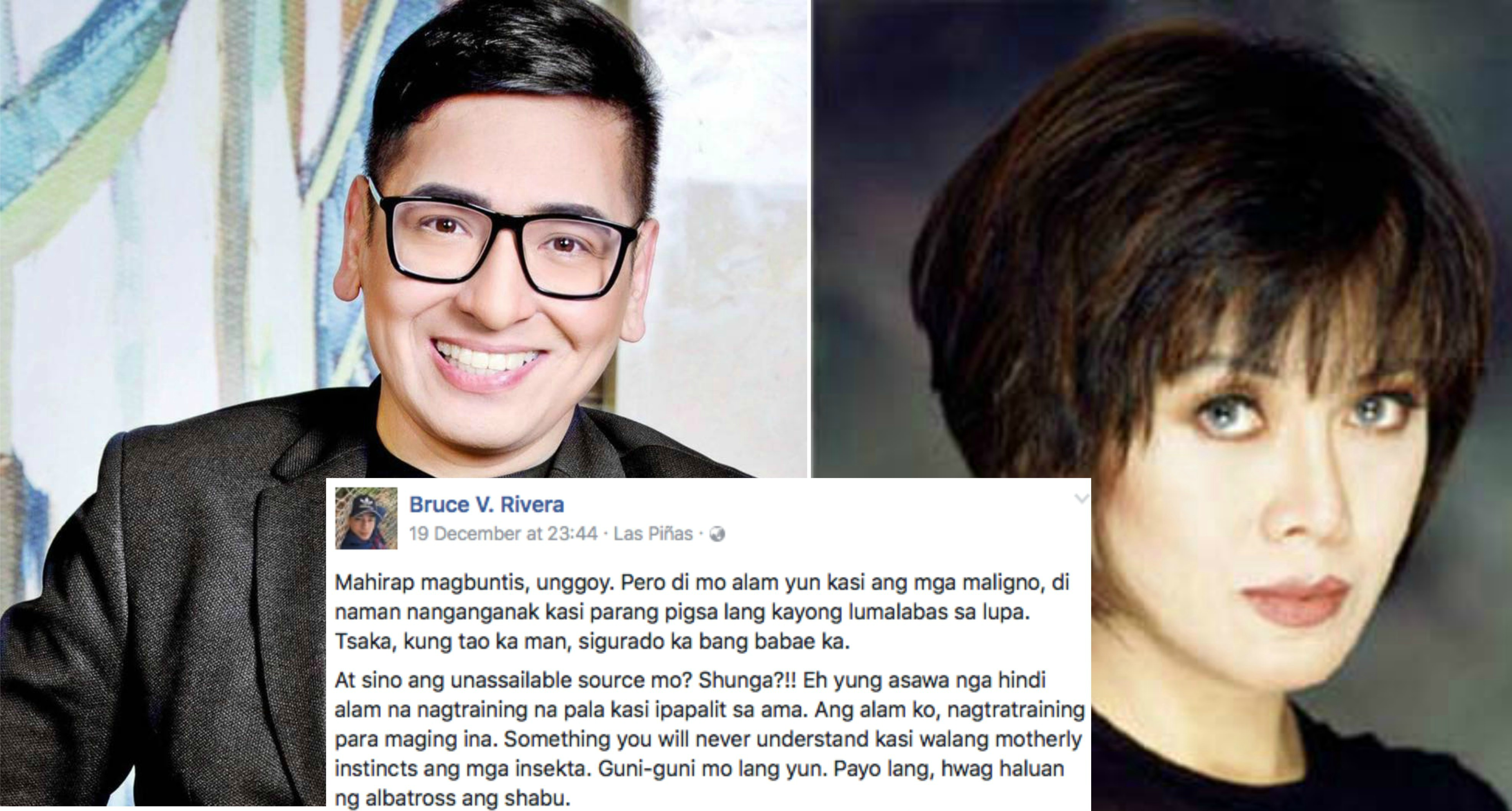 "Trending Jim Paredes Scandal: Bruce Rivera Defended Inday Sara From Cynthia Patag: ""Payo"