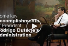 WATCH:video showcases  Duterte admin achievement in 6 months that opposition don't want to watch