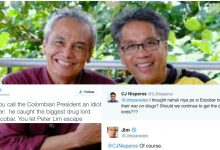 Netizens debates with Jim Paredes after the artists criticizes Duterte on his twitter.