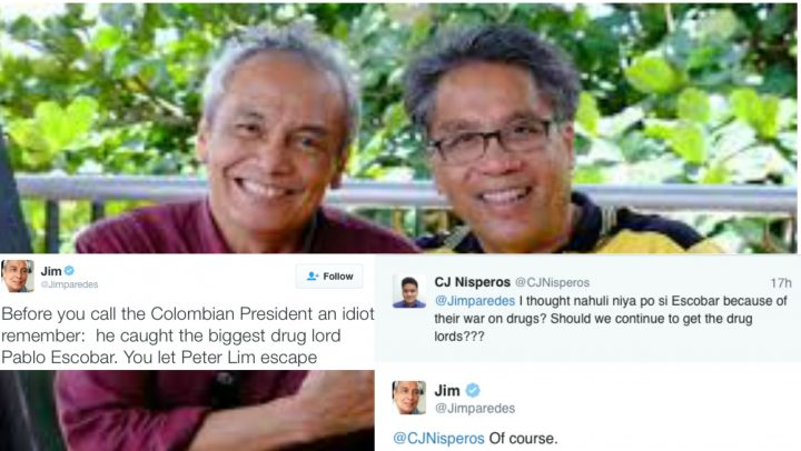 Related News On Jim Paredes: Jim-paredes-twitter-debate