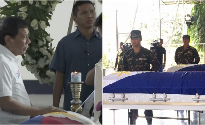 Netizens reacts when they saw President Duterte cries after seeing the remains of his soldiers killed by NPA