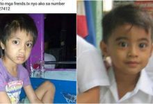 Child who resembles the face of Ja-El Flores found in Novaliches