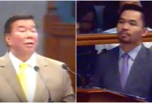 WATCH: Neophyte Pacquiao debates with Veteran Drilon: Use your common sense