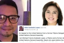 Former UN General Assembly delegate writes letter to UN to not believe Leni's video message: They wanted to control the governent