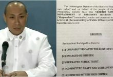 """Destabilization plot started?"" President Duterte faces first impeachment case"
