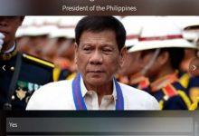 President Rodrigo Duterte wins TIME 2017 world's most influential people poll