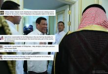 LOOK:President Rodrigo Duterte receives praise from different nationalities in his visit in Middle East