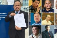 LOOK: List of people who faces complaint in International Criminal Court