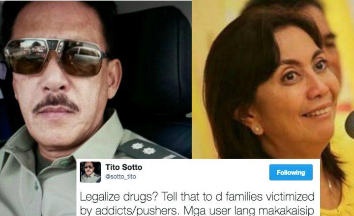 Sotto slams proposal to legalize shabu: Mga adik sa droga lang makakaisip niyan