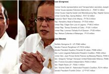 LOOK: List of politicians who became top beneficiaries of unconstitutional DAP