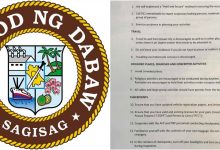 LOOK: Davao City releases guidelines during Martial Law period