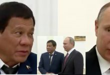 WATCH: President Rodrigo Duterte and President Putin's conversation during their meeting in Moscow