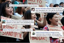 LOOK: How Mindanaoans lecture UP Diliman students about the decision of President Duterte to declare Martial Law