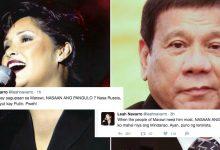 """Leah Navarro slams Duterte: """"Habang may sagupaan sa Marawi, si Duterte nasa Russia nag papa cute"""""""