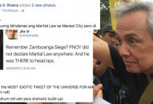 Jim Paredes got schooled again by the Pro-Duterte bloggers after he boasts that PNoy didn't declare martial law during his time