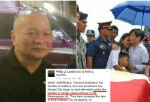 """Alleged PR Man of Mar Roxas mocks families of slain SAF44: """"They made unnecessary annoying noises"""""""
