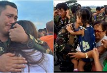 WATCH: Soldiers become emotional as they saying goodbye to their relatives before being deploy in Marawi