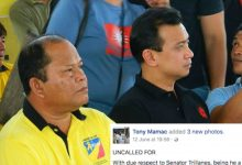 Supremo of Guardians Brotherhood who supported Trillanes during campaigns now bashes him: Wala ka na bang disiplina?