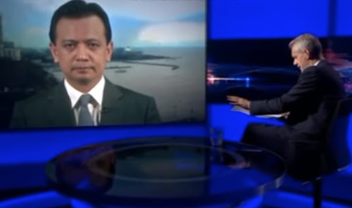 Trillanes claims that he earns praises from netizens for BBC interview