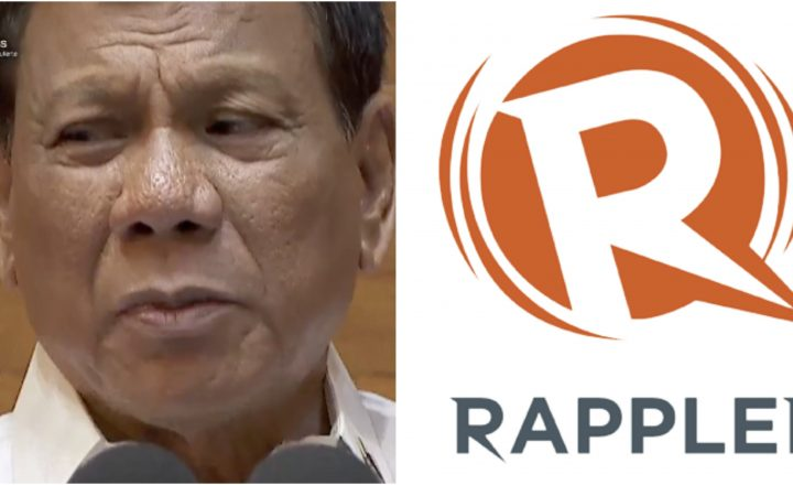 "Duterte blasts Rappler in his SONA Speech: ""Have you tried to pierce your identity? You should be 100% Filipino"""