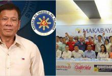 President Rodrigo Duterte wants to remove party-list system