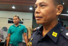 WATCH: 40 Barangay Captain allies of Mayor Parojinog surrender themselves to Chief Espinido