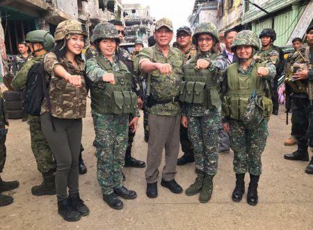President Rodrigo Duterte and Mocha Uson visits Marawi City again
