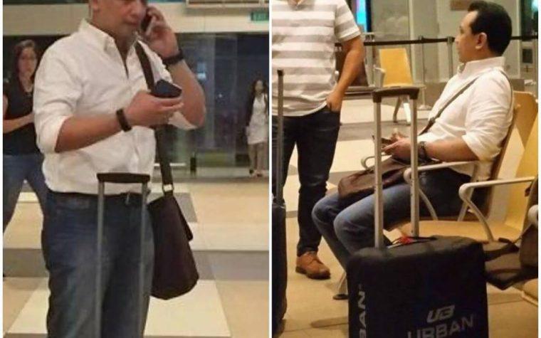 LOOK: Senator Trillanes spotted in Singapore