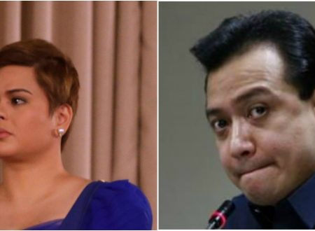 """Inday Sara Duterte after being informed that she's in the same hotel with Trillanes: """"Pahiram ng Martilyo"""""""