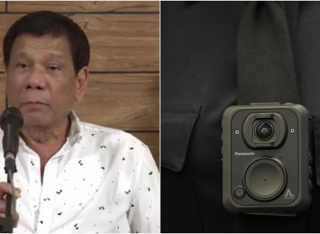 President Duterte suggests ₱600-M CHR budget to be use to buy police body cameras