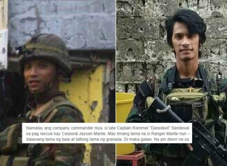 """I cover fire niyo ako!"" These two soldiers including a commander sacrifice their lives to save their wounded comrade in Marawi City"