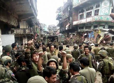 LOOK: Soldiers celebrate as terrorist leaders confirmed dead
