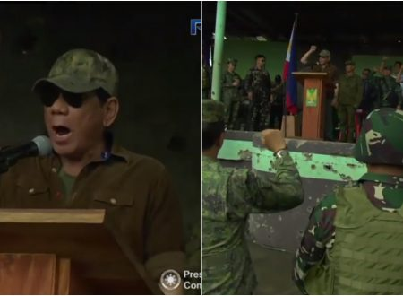 WATCH: President Duterte declares Liberation of Marawi, announces that NPA and Basilan are the next target
