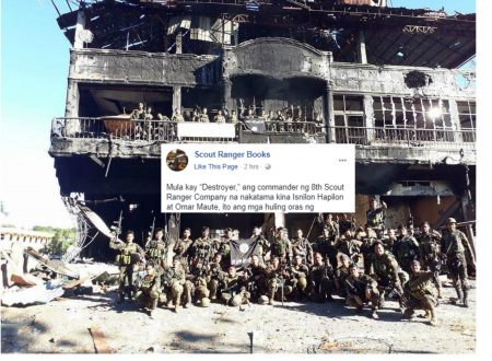 """Commander """"Destroyer"""" recounts how they successfully killed Omar Maute and Isnilon Hapilon"""